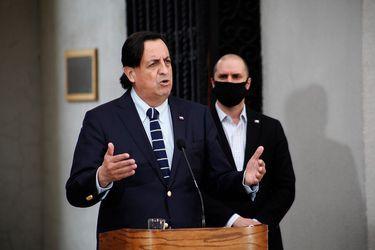 """Ministro Pérez sobre la defensa de la acusación constitucional que generó tensión con RN: """"Esto es un tema resuelto, aclarado y totalmente superado"""""""