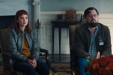 Jennifer Lawrence y Leonardo DiCaprio no logran convencer a Meryl Streep sobre la amenaza de un asteroide en el nuevo nuevo clip de Don't Look Up