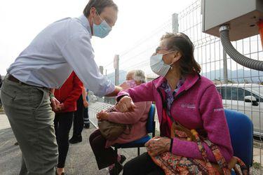 """Subsecretario Zúñiga: """"Estamos muy preocupados con el nivel de contagios que están teniendo las comunas de Rancagua, Graneros y San Fernando"""""""