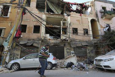 Registro de dron muestra las devastadoras consecuencias de la explosión en Beirut