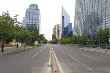 Postales de Santiago en  Fin de Semana Largo