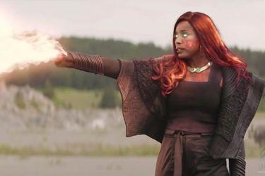 Kory finalmente se convertiría en Starfire en la tercera temporada de Titans