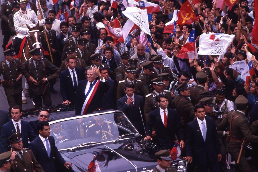 PATRICIO AYLWIN PRESIDENTE DE CHILE