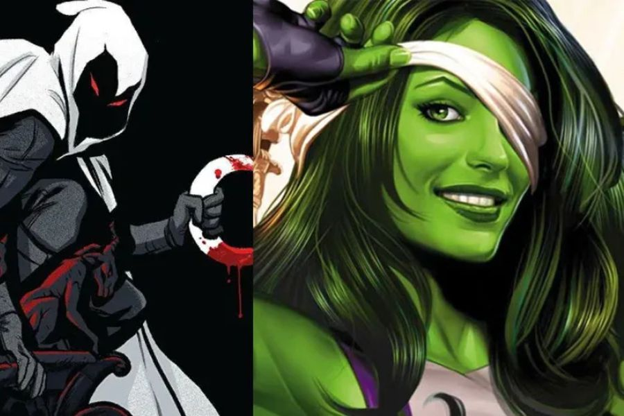 She-Hulk y Moon Knight
