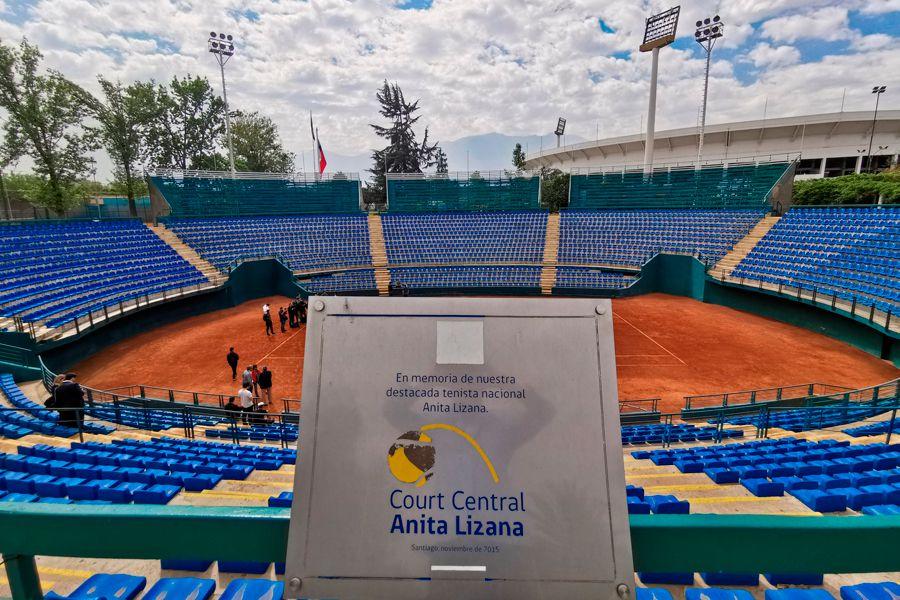Court Central, Estadio Nacional