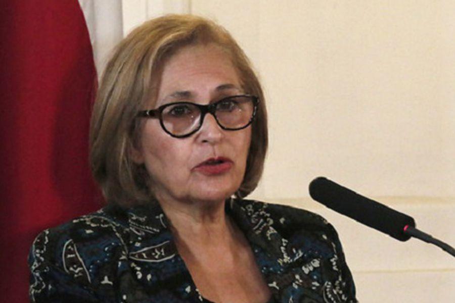 En 2002, Adriana Muñoz logró la presidencia de la Cámara de Diputados. (Foto: Agencia Uno)