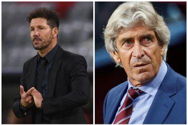 Simeone vs. Pellegrini: chocan los técnicos sudamericanos activos con más partidos en La Liga