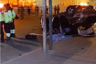 Accidente de tránsito deja tres muertos en centro de Valparaíso