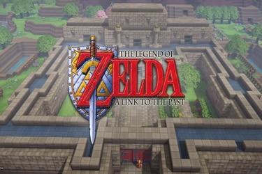 Recrean el mundo Zelda: A Link to the Past en Dragon Quest Builders 2