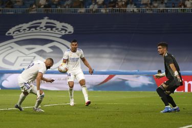 Dituro fue goleado en la reapertura del Santiago Bernabéu