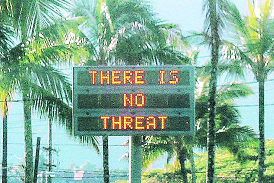 hawai-there-is-no-threa