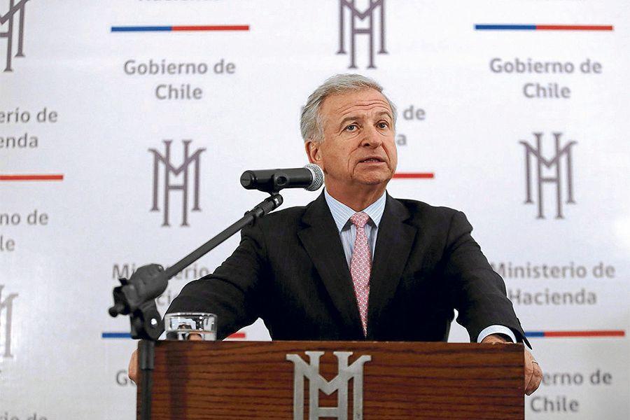 Ministro de Hacienda, Felipe Larrain, comenta cierre de Mision del Artículo IV del F.M.I.