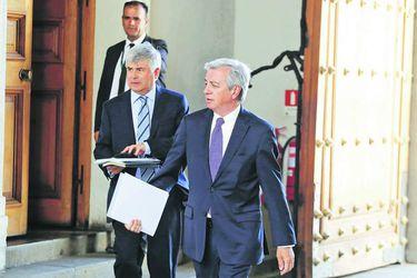 Juan Benavides y Octavio Araneda se reunieron con Presidente Piñera por fiscalización de Codelco