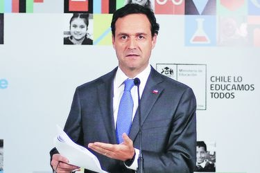 """Juan Eduardo Vargas, subsecretario de Educación Superior: """"Los dirigentes secundarios debiesen resguardar el derecho a dar esta prueba"""""""