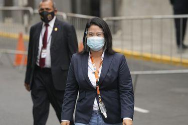 Justicia de Perú rechaza la solicitud de prisión preventiva contra Keiko Fujimori