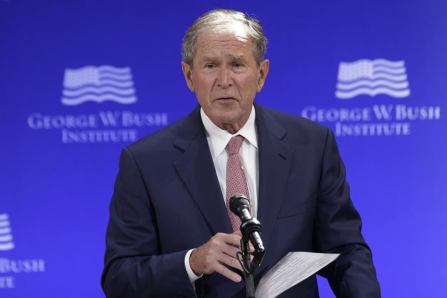 Expresidente republicano George W. Bush felicita a Joe Biden por triunfo y  dice que elección fue justa y que el resultado es claro - La Tercera