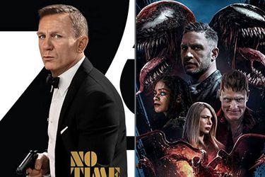 Más cerca de lo que era normal: No Time To Die y Venom 2 rompen récords de recaudación durante la pandemia