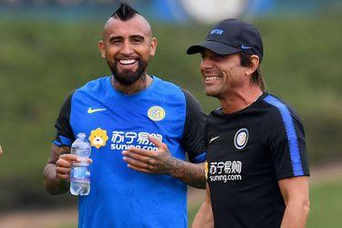 Galería: las fotos del primer día de Arturo Vidal en el Inter