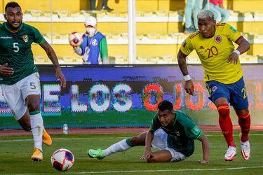 Colombia de Rueda logra valioso empate en Bolivia y se mantiene en la lucha para llegar a Qatar