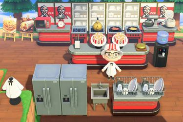 KFC abre su restaurant virtual en Animal Crossing: New Horizons