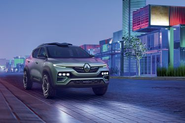Renault muestra el conceptual Kiger, que adelanta el próximo SUV indio de la marca