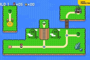 Super Mario Maker 2 tendrá un creador de mundos con nueva actualización