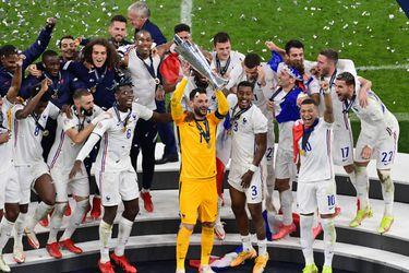 Un gol polémico le da a Francia el título de la Nations League