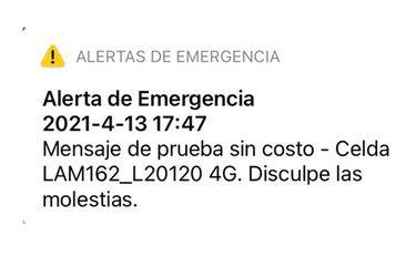 """Subtel anuncia oficio contra Entel por emitir mensaje de alerta de emergencia """"por error"""""""