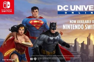 Con un tráiler DC Universe Online celebra su llegada a la Nintendo Switch