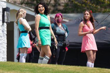 Fotos del set ofrecen el primer vistazo a la serie live-action de Las Chicas Superpoderosas