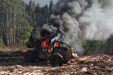 Se registra nuevo ataque incendiario en La Araucanía a casi 24 horas de un hecho similar en la región