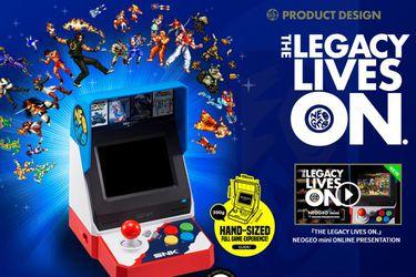 NeoGeo Mini ya tiene fecha de lanzamiento