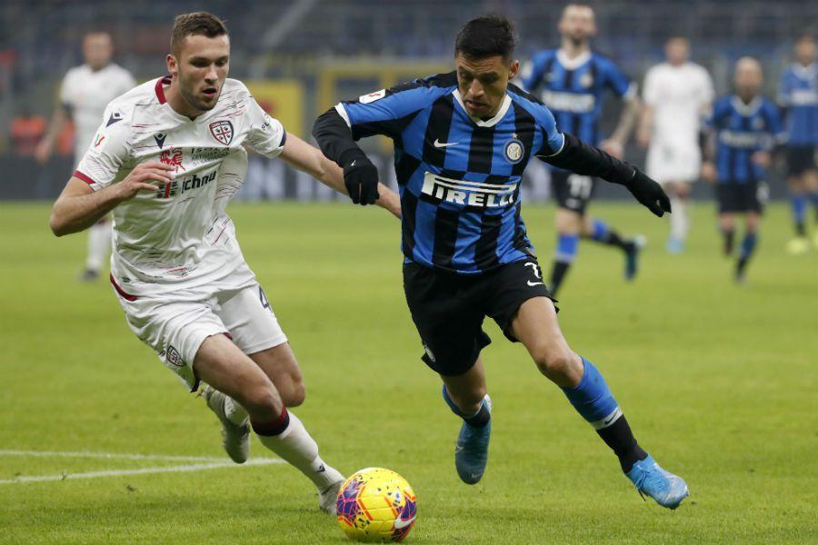 Alexis Sánchez | Inter vs Cagliari| 14-01-2020