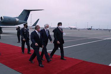 Presidente Piñera retoma agenda internacional y arriba a Lima para asistir a la ceremonia de cambio de mando presidencial en Perú