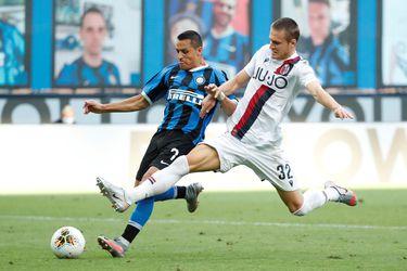El enojado ingreso de Alexis no alcanza para salvar al Inter frente al Bologna de Medel
