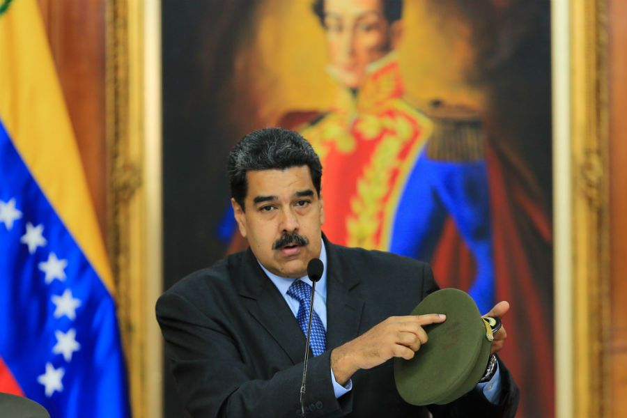 Maduro dice que a auto(23185221)