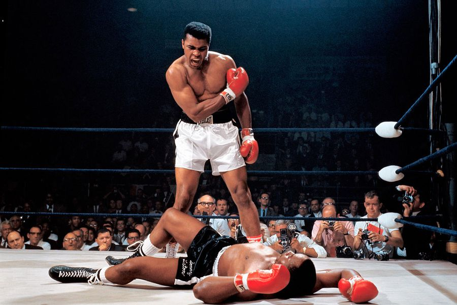 Muhammad Ali Sonny Liston Neil Leifer