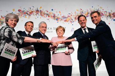Piñera insta a países a convertirse en carbono neutral antes de 2050 y busca asegurar participación en el COP25