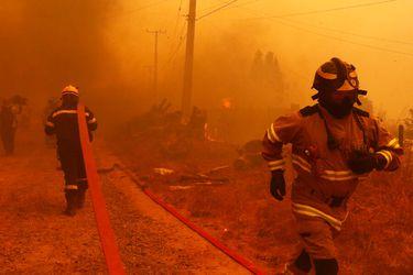 """Intendente de Valparaíso afirma que incendios en Quilpué todavía no están controlados y que """"no podemos autorizar"""" el regreso de los evacuados"""