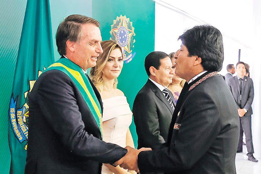Bolsonaro-Evo