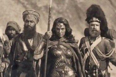 Wonder Woman sostiene varias cabezas cortadas en una nueva foto elaborada para Batman vs Superman