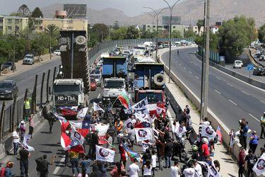 No más Tag realiza caravana de protesta por Autopista