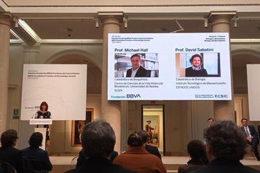 michael hall david sabatini premios fundacion bbva biologia biom