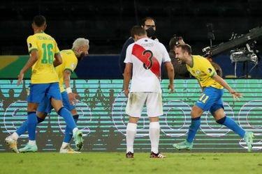 Brasil no tiene rivales en esta Copa América: ahora goleó 4-0 en el debut de la selección peruana