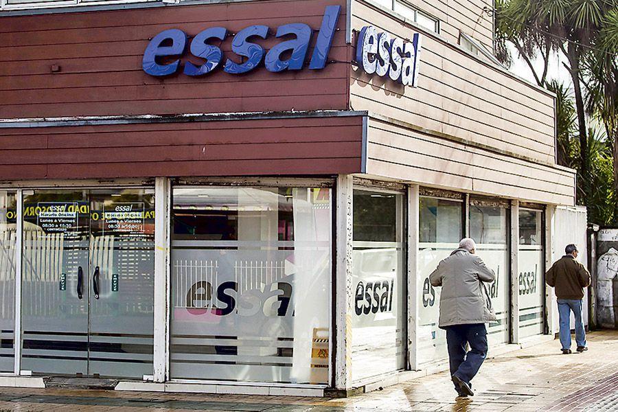Oficina comercial de Essal, filial de Aguas Andinas.