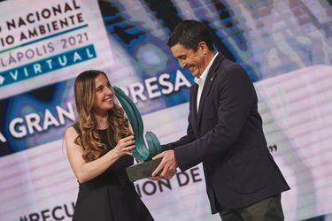 Premio Nacional de Medio Ambiente 2021 distinguió por primera vez a cadena de comida rápida