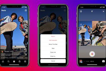Instagram lanza Remix, una función similar a Duets de TikTok