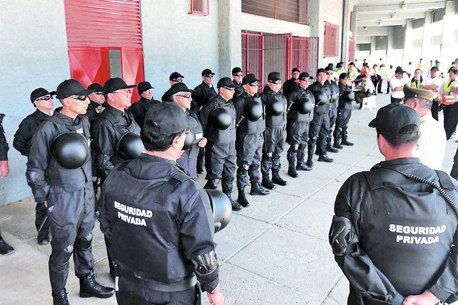 Guardias en el Nacional