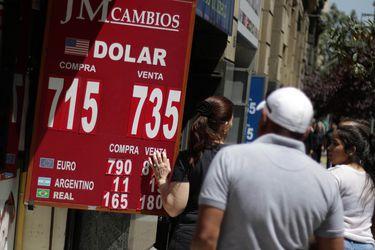 Dólar revierte baja de esta mañana y completa segunda alza consecutiva: divisa actúa como refugio ante temor por contagios