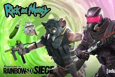 Rainbow Six Siege presentó dos skins basadas en Rick & Morty